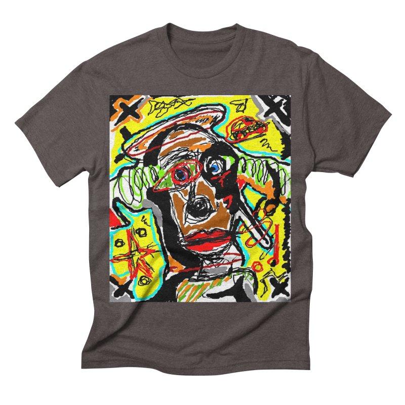Mixed Up Men's Triblend T-shirt by viggo's Artist Shop