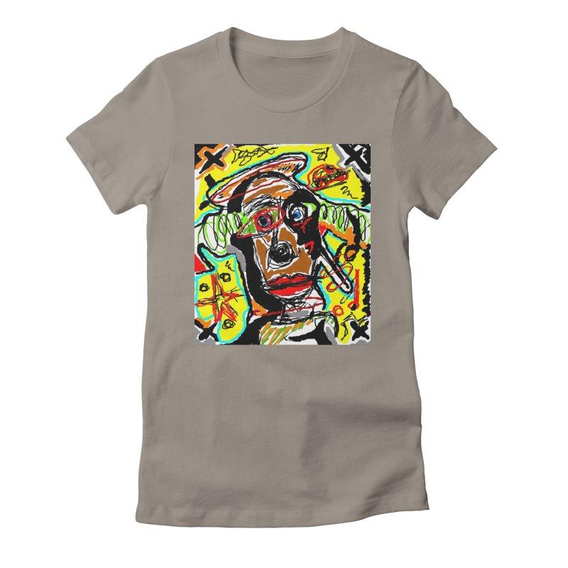 Mixed Up Women's Fitted T-Shirt by viggo's Artist Shop