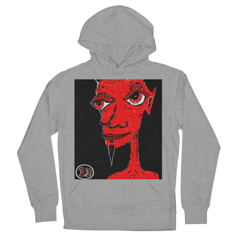 Number 13 Women's Pullover Hoody by viggo's Artist Shop
