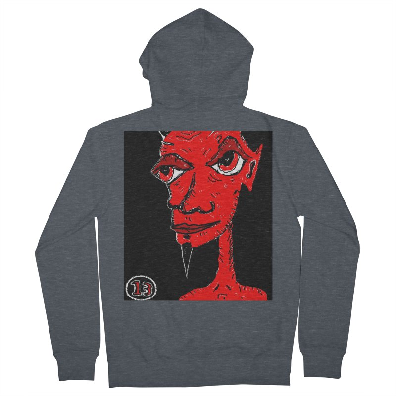 Number 13 Women's Zip-Up Hoody by viggo's Artist Shop