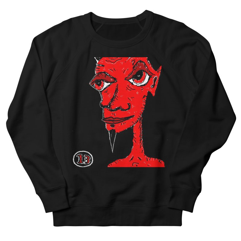 Number 13 Men's Sweatshirt by viggo's Artist Shop
