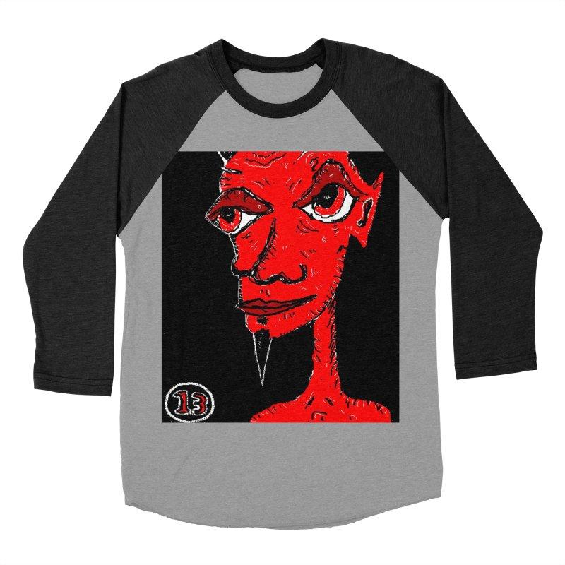 Number 13 Women's Baseball Triblend T-Shirt by viggo's Artist Shop