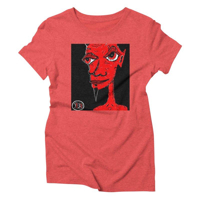 Number 13 Women's Triblend T-Shirt by viggo's Artist Shop