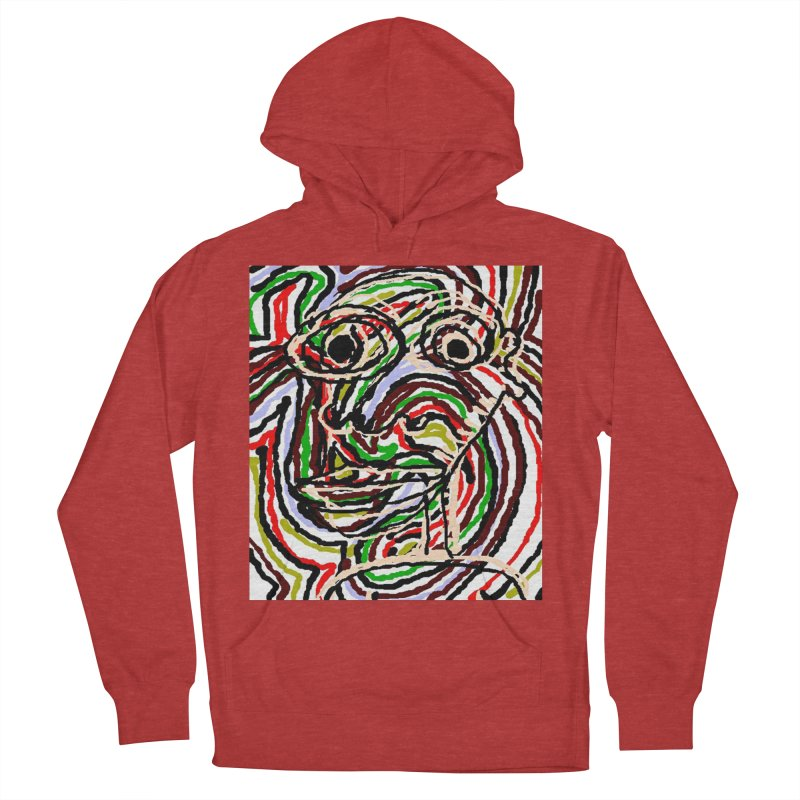 Strips Women's Pullover Hoody by viggo's Artist Shop