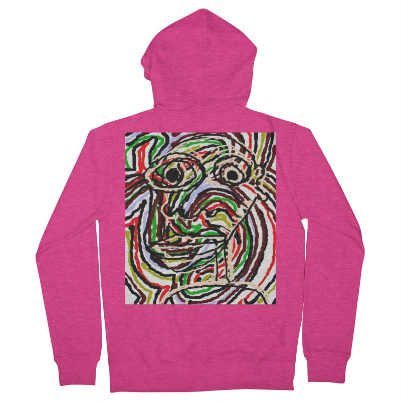 Strips Women's Zip-Up Hoody by viggo's Artist Shop