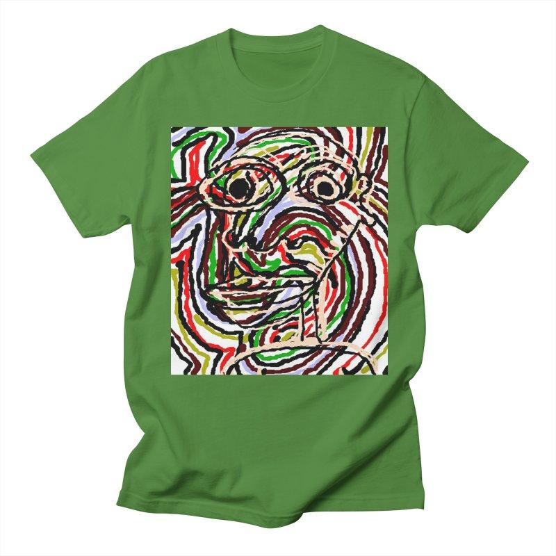Strips Men's T-shirt by viggo's Artist Shop
