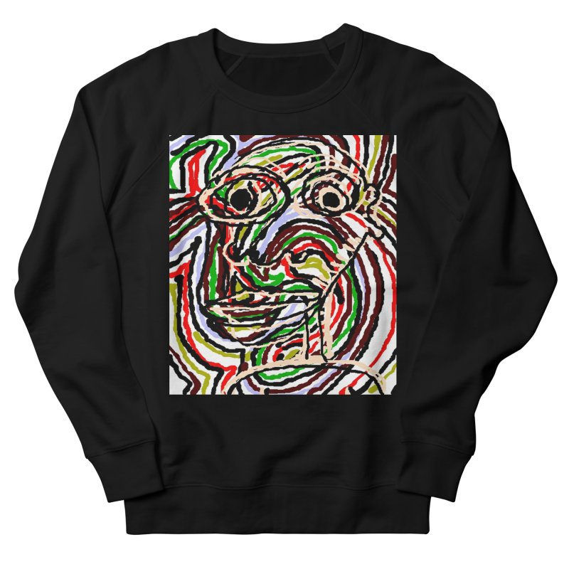 Strips Men's Sweatshirt by viggo's Artist Shop