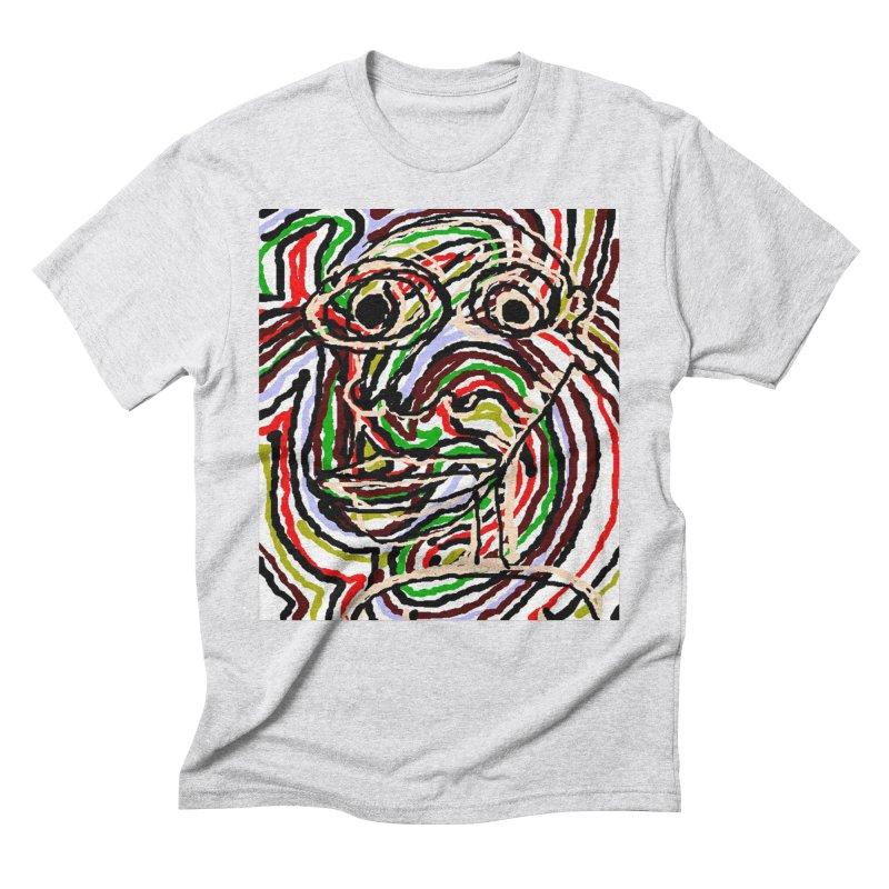 Strips Men's Triblend T-Shirt by viggo's Artist Shop