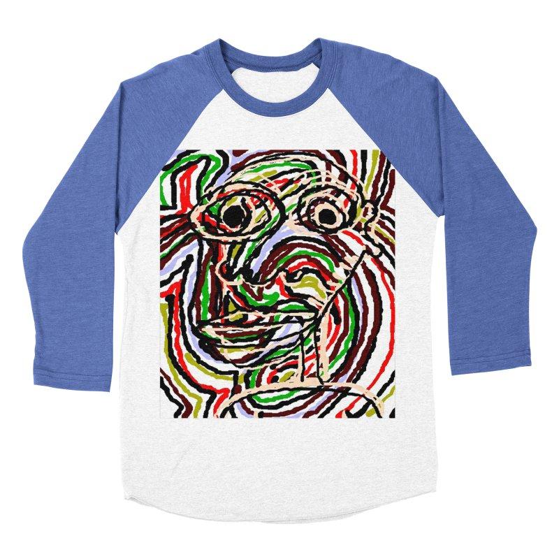 Strips Women's Baseball Triblend T-Shirt by viggo's Artist Shop