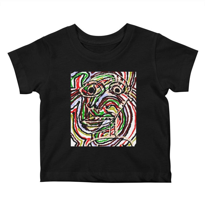 Strips Kids Baby T-Shirt by viggo's Artist Shop