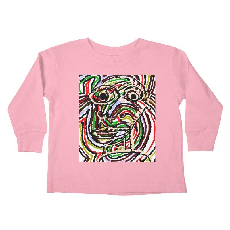 Strips Kids Toddler Longsleeve T-Shirt by viggo's Artist Shop