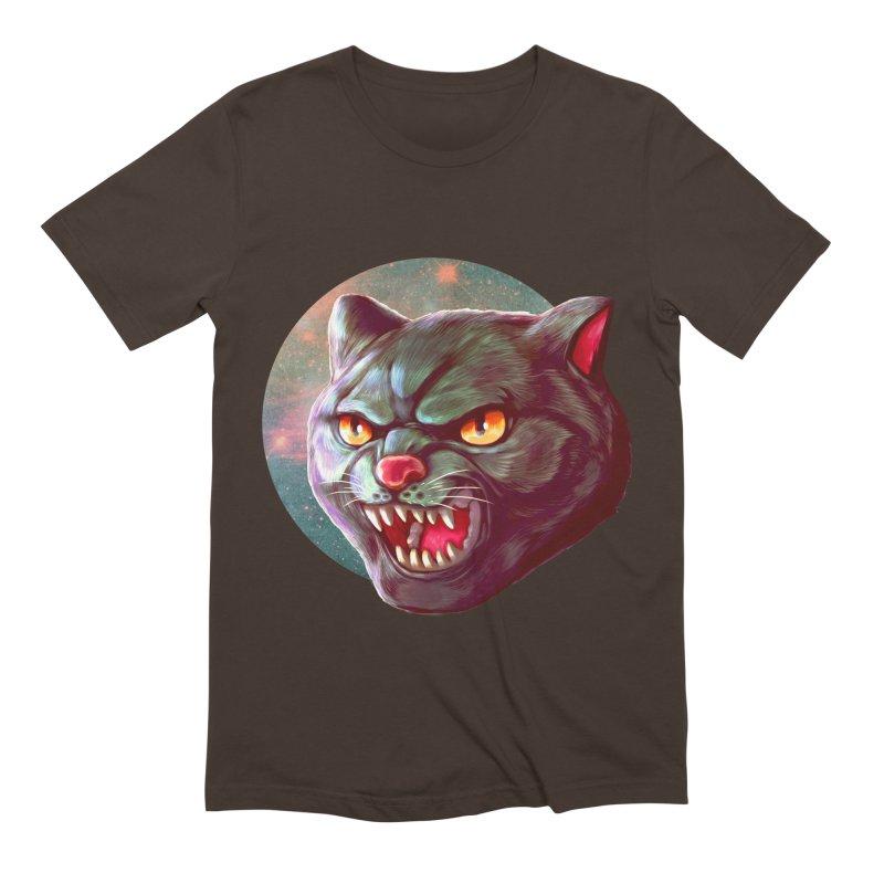 Space Cat Men's Extra Soft T-Shirt by villainmazk's Artist Shop