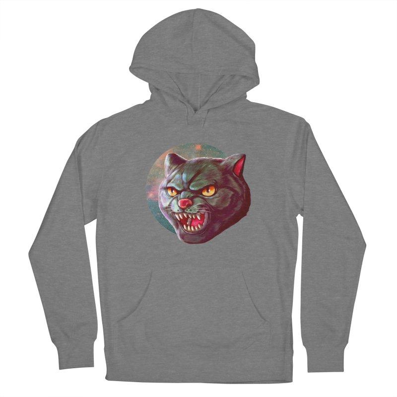 Space Cat Women's Pullover Hoody by villainmazk's Artist Shop