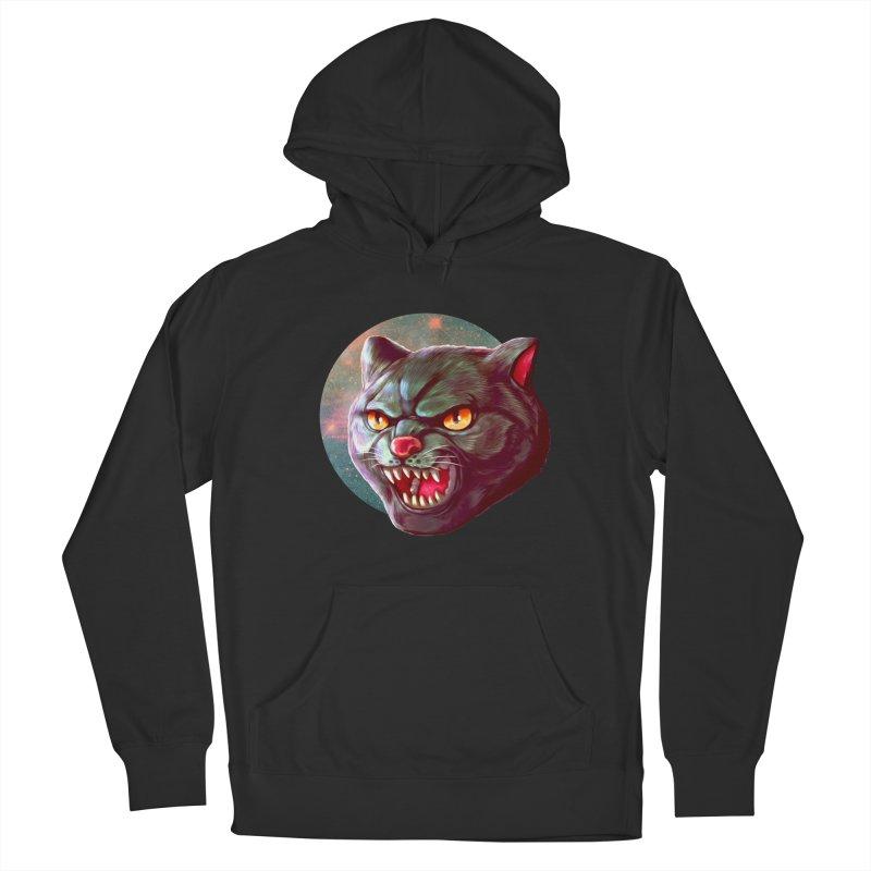 Space Cat Men's Pullover Hoody by villainmazk's Artist Shop