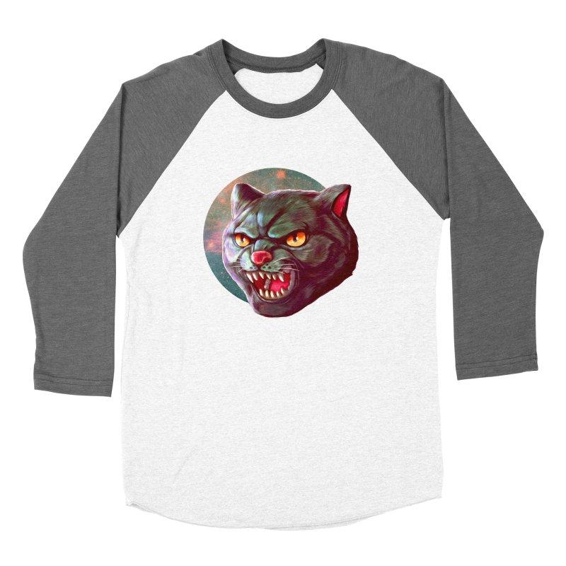 Space Cat Women's Longsleeve T-Shirt by villainmazk's Artist Shop