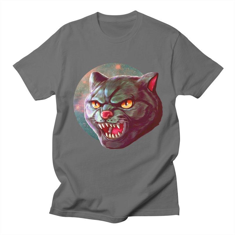 Space Cat Women's T-Shirt by villainmazk's Artist Shop