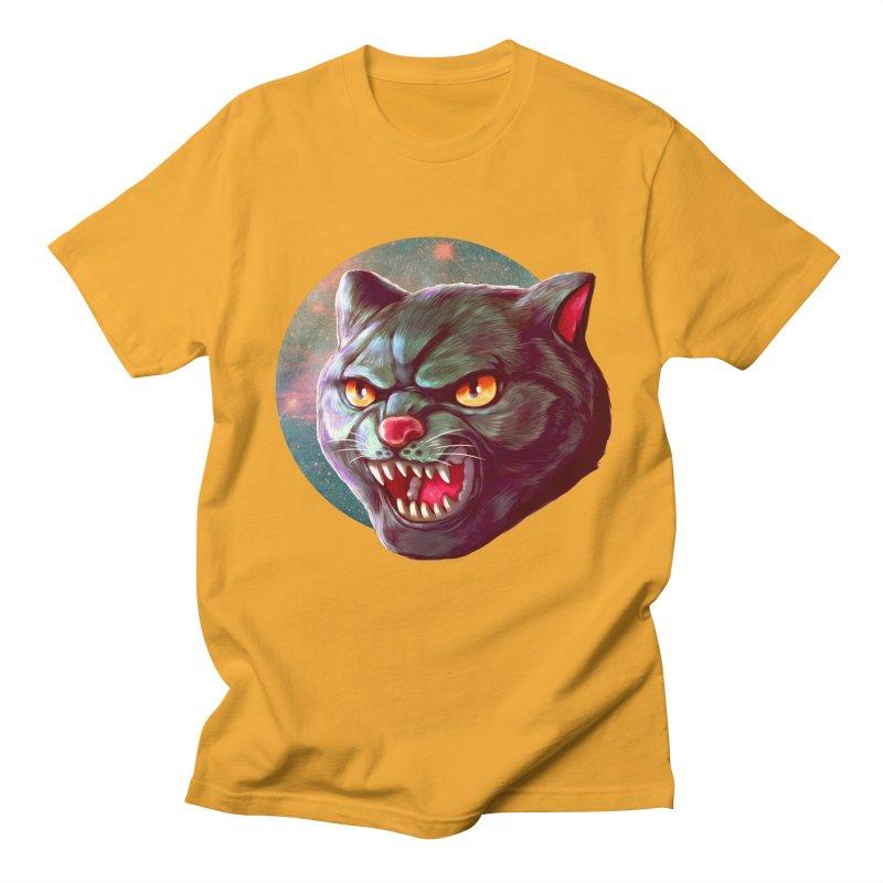 Space Cat Men's T-Shirt by villainmazk's Artist Shop