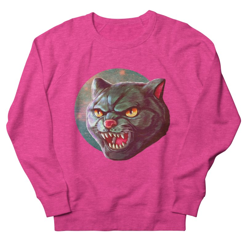 Space Cat Women's Sweatshirt by villainmazk's Artist Shop