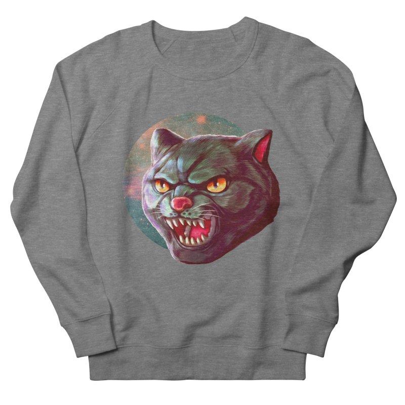 Space Cat Men's French Terry Sweatshirt by villainmazk's Artist Shop