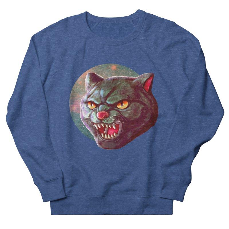 Space Cat Men's Sweatshirt by villainmazk's Artist Shop