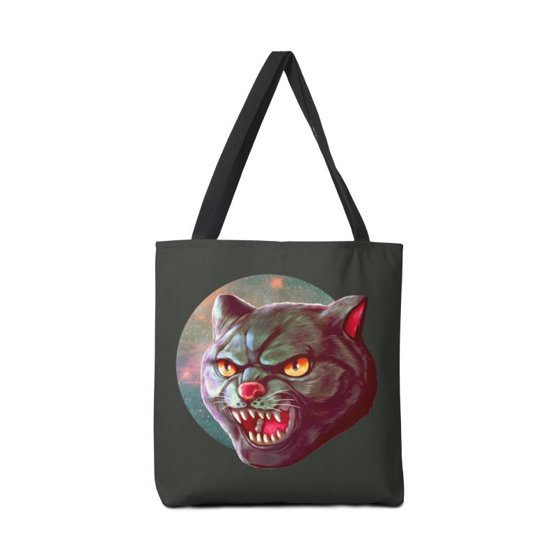 Space Cat Accessories Tote Bag Bag by villainmazk's Artist Shop