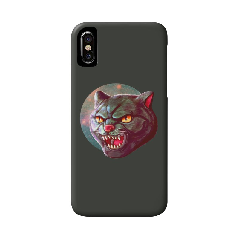 Space Cat Accessories Phone Case by villainmazk's Artist Shop