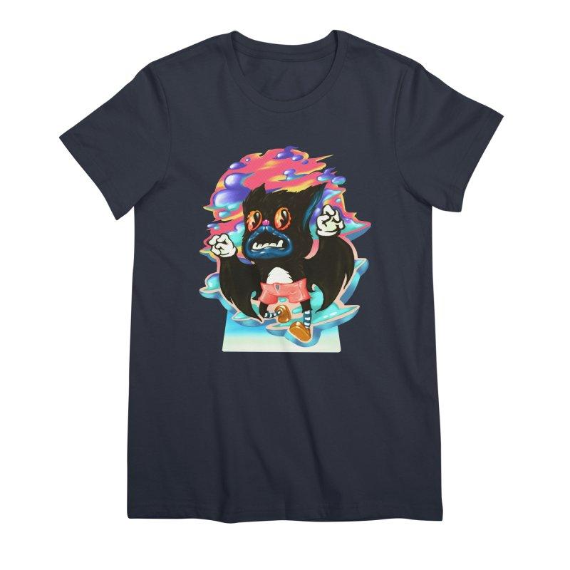 BatBoy sky Women's Premium T-Shirt by villainmazk's Artist Shop