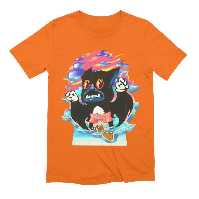 BatBoy sky Men's Extra Soft T-Shirt by villainmazk's Artist Shop