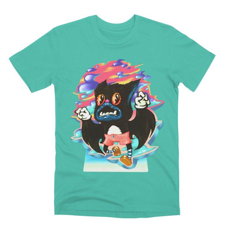 BatBoy sky Men's Premium T-Shirt by villainmazk's Artist Shop