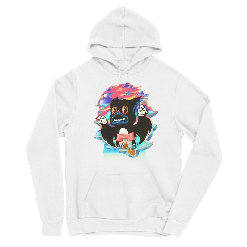 BatBoy sky Women's Sponge Fleece Pullover Hoody by villainmazk's Artist Shop