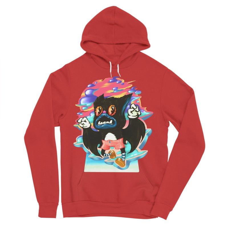 BatBoy sky Men's Pullover Hoody by villainmazk's Artist Shop