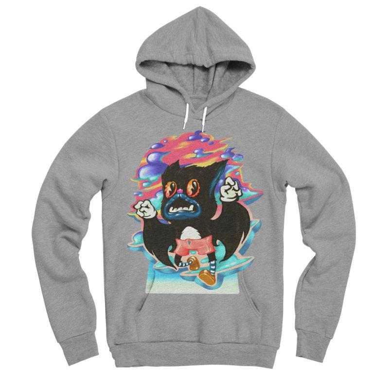 BatBoy sky Men's Sponge Fleece Pullover Hoody by villainmazk's Artist Shop