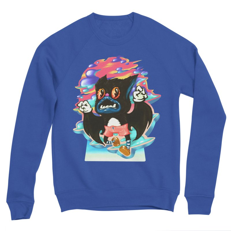 BatBoy sky Men's Sponge Fleece Sweatshirt by villainmazk's Artist Shop