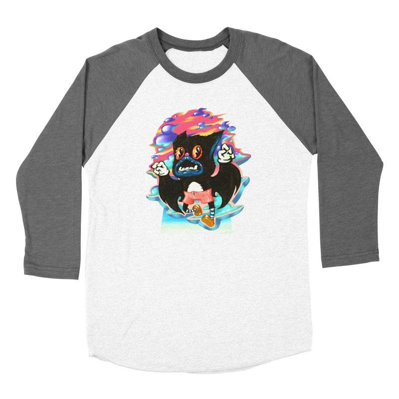 BatBoy sky Women's Longsleeve T-Shirt by villainmazk's Artist Shop