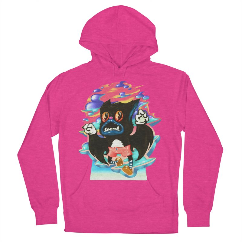 BatBoy sky Men's French Terry Pullover Hoody by villainmazk's Artist Shop