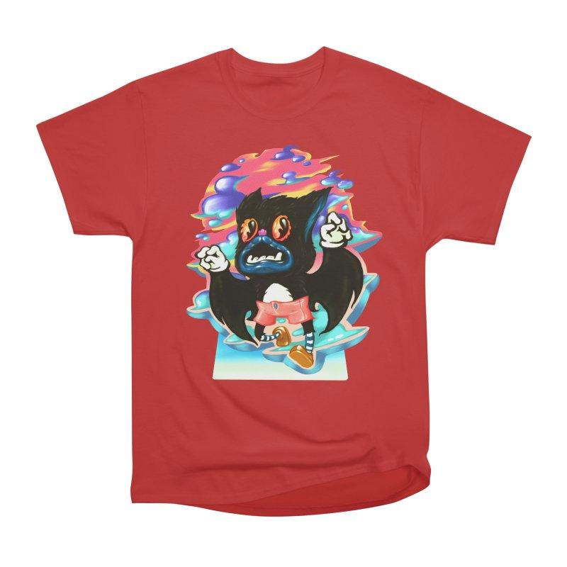 BatBoy sky Men's Heavyweight T-Shirt by villainmazk's Artist Shop