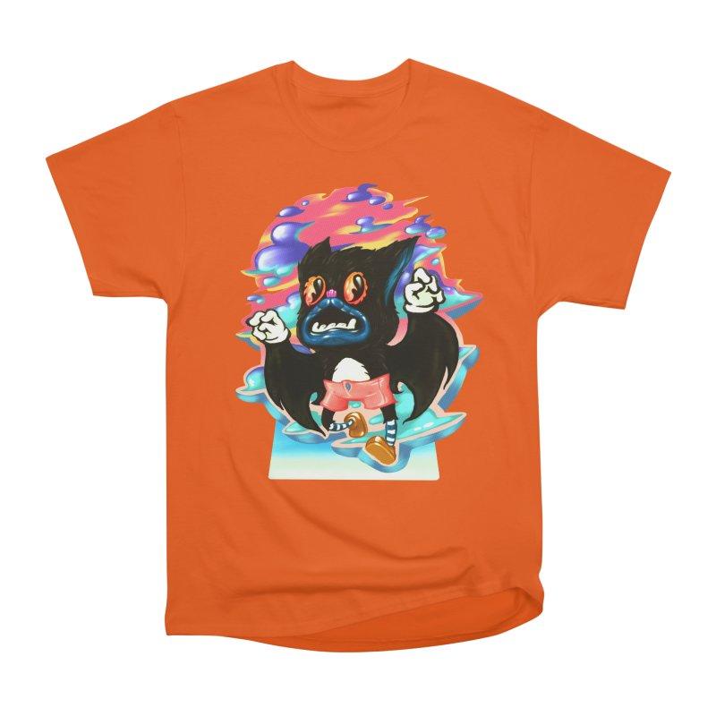 BatBoy sky Women's T-Shirt by villainmazk's Artist Shop