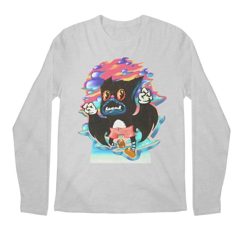 BatBoy sky Men's Regular Longsleeve T-Shirt by villainmazk's Artist Shop