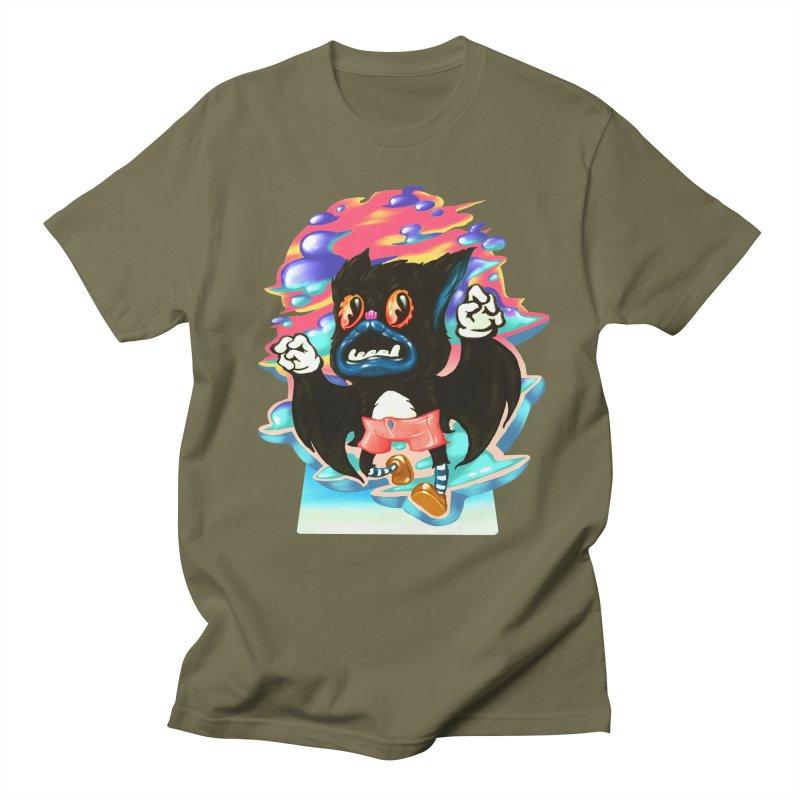 BatBoy sky Women's Regular Unisex T-Shirt by villainmazk's Artist Shop