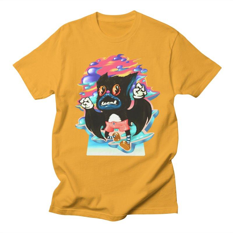 BatBoy sky Men's Regular T-Shirt by villainmazk's Artist Shop