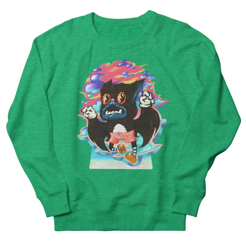 BatBoy sky Women's Sweatshirt by villainmazk's Artist Shop