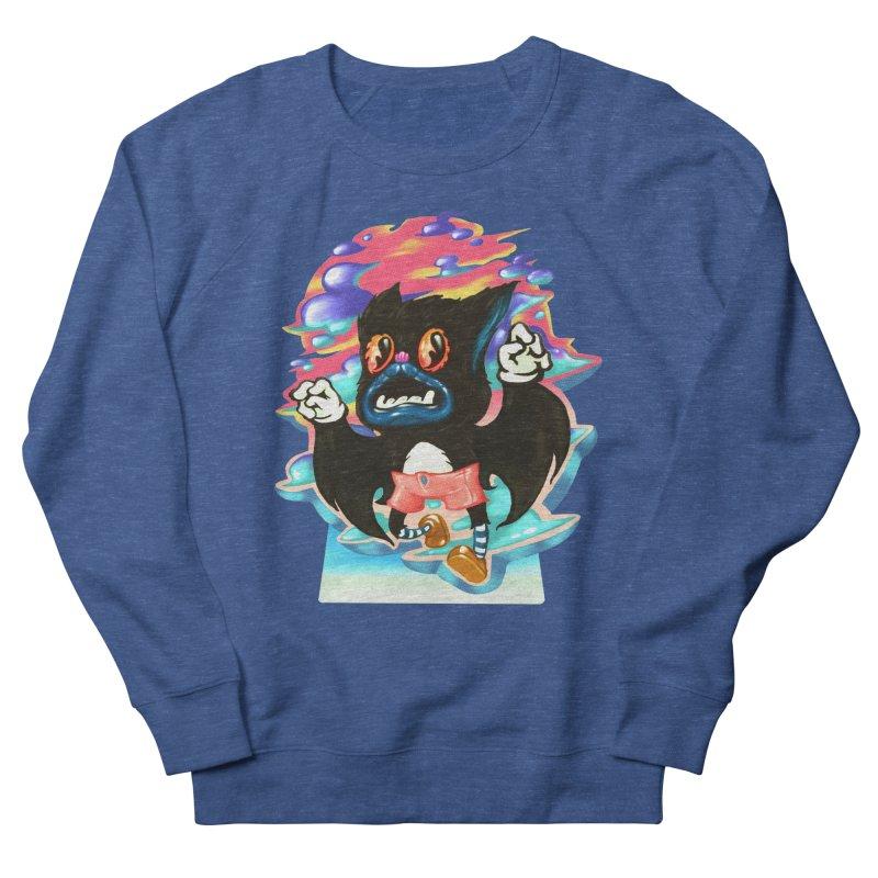 BatBoy sky Women's Sweatshirt by villainmazk's Artist Shop