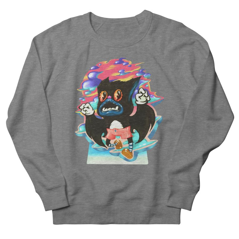 BatBoy sky Women's French Terry Sweatshirt by villainmazk's Artist Shop