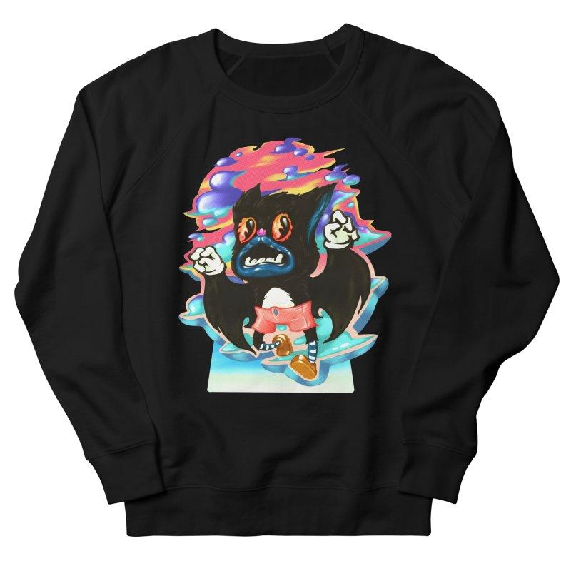BatBoy sky Women's French Terry Sweatshirt by villainmazk's Artist Shop