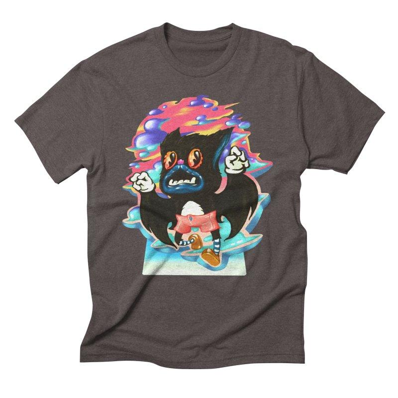 BatBoy sky Men's Triblend T-Shirt by villainmazk's Artist Shop