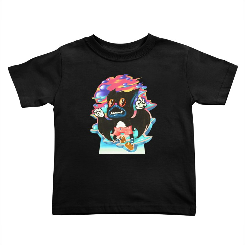 BatBoy sky Kids Toddler T-Shirt by villainmazk's Artist Shop
