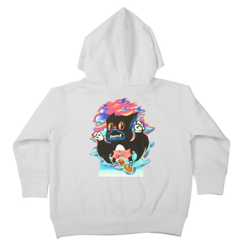 BatBoy sky Kids Toddler Zip-Up Hoody by villainmazk's Artist Shop