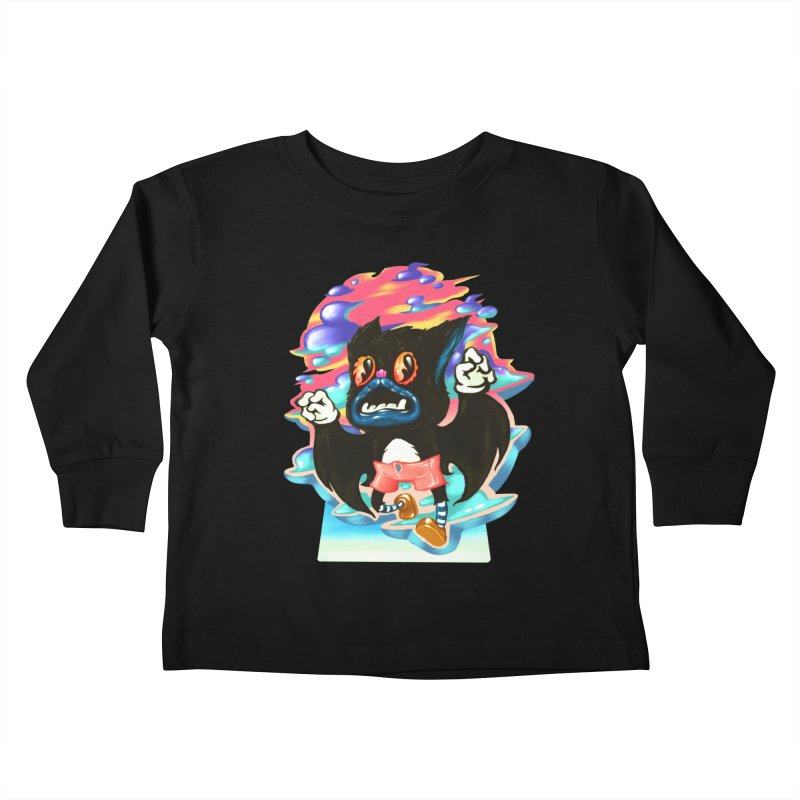 BatBoy sky Kids Toddler Longsleeve T-Shirt by villainmazk's Artist Shop