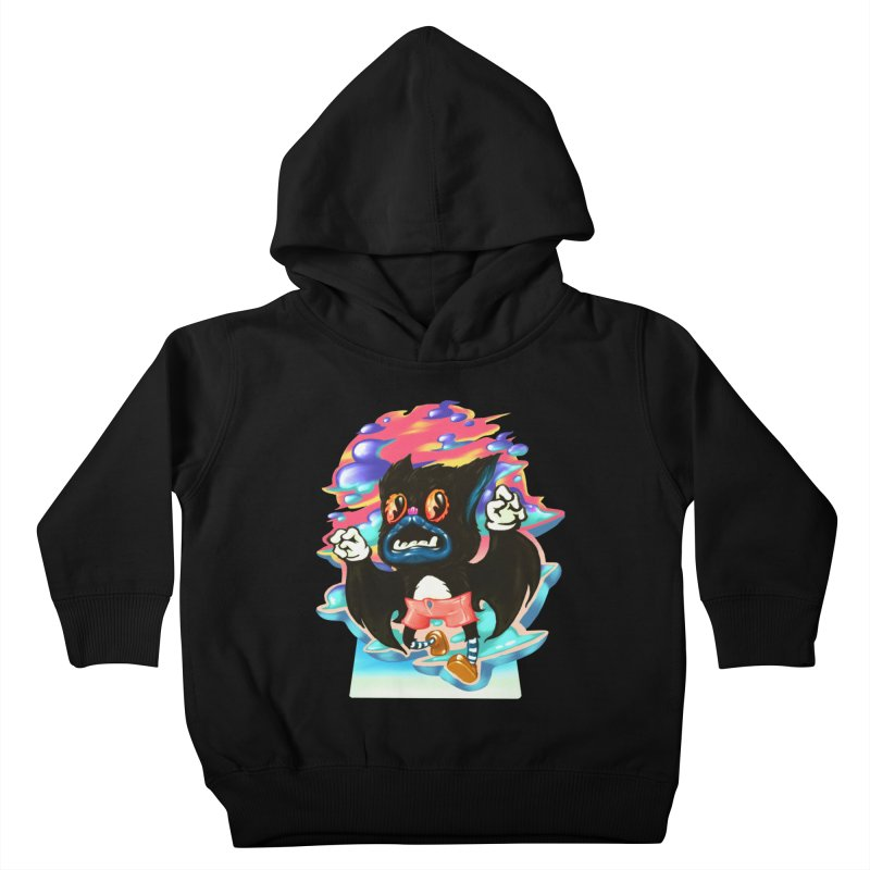 BatBoy sky Kids Toddler Pullover Hoody by villainmazk's Artist Shop
