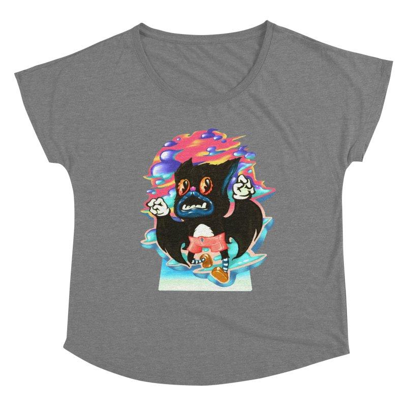 BatBoy sky Women's Dolman Scoop Neck by villainmazk's Artist Shop